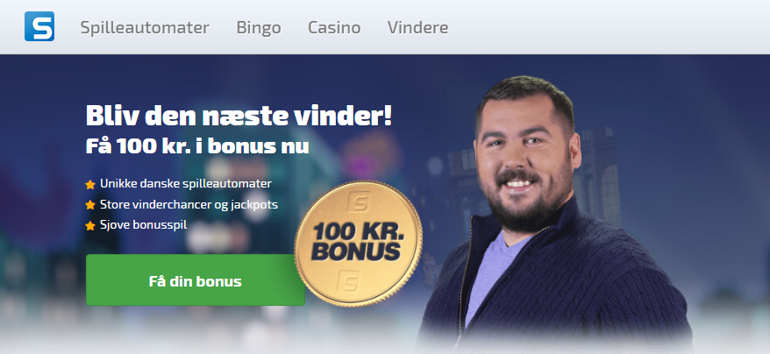 Spilleautomater-100kr